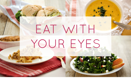 You Eat With Your Eyes (and so do your clients)