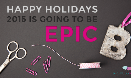 Happy Holidays– with a Special Gift from Betty-Claus!