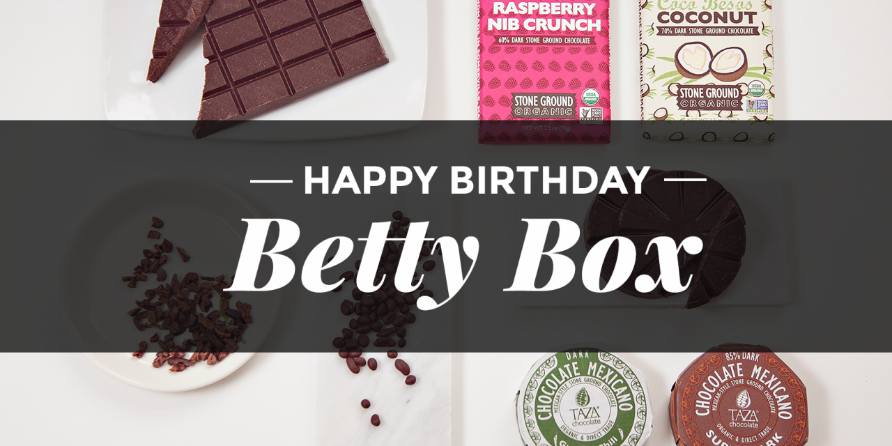 The Betty Box | A Year in Review