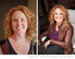 It's Not Just A Headshot. Business Portrait Before & After, Business Betties