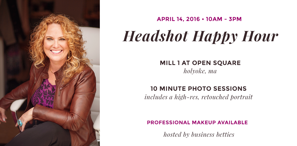 Headshot Happy Hour: You're Invited!